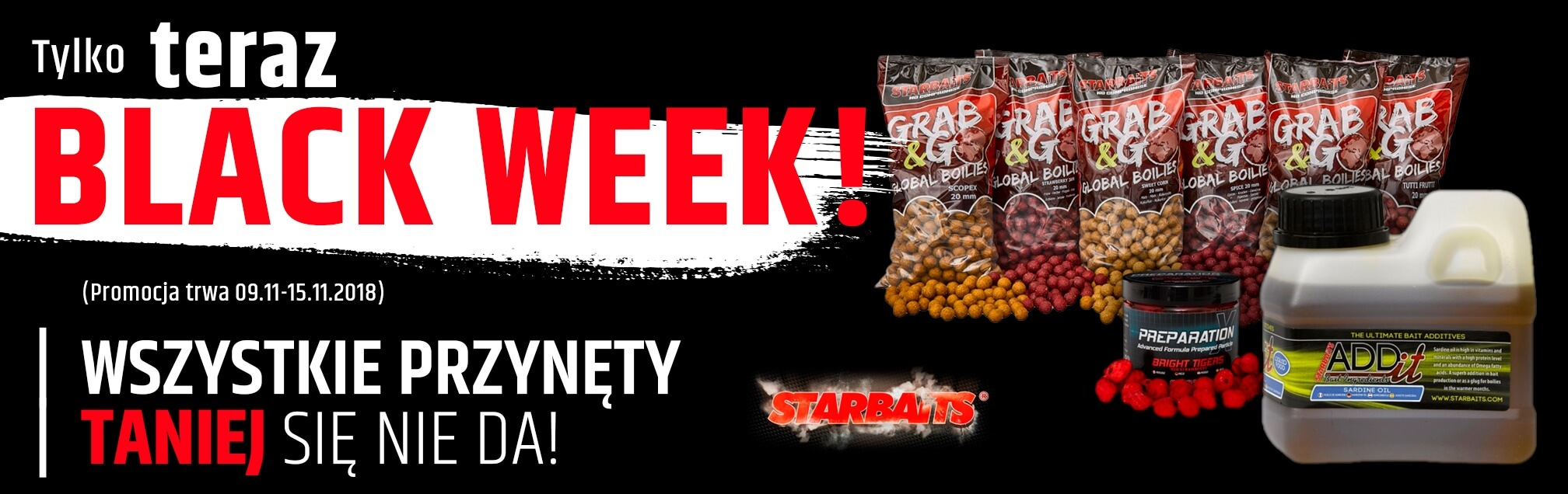 Black Weeks - Starbaits