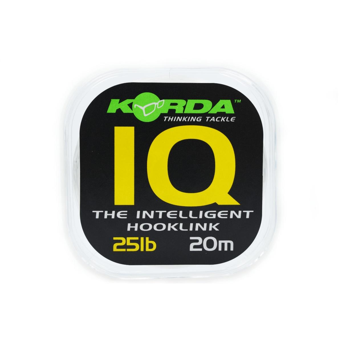 Korda IQ Fluorocarbon wytrzymałość 25lb/11.3kg
