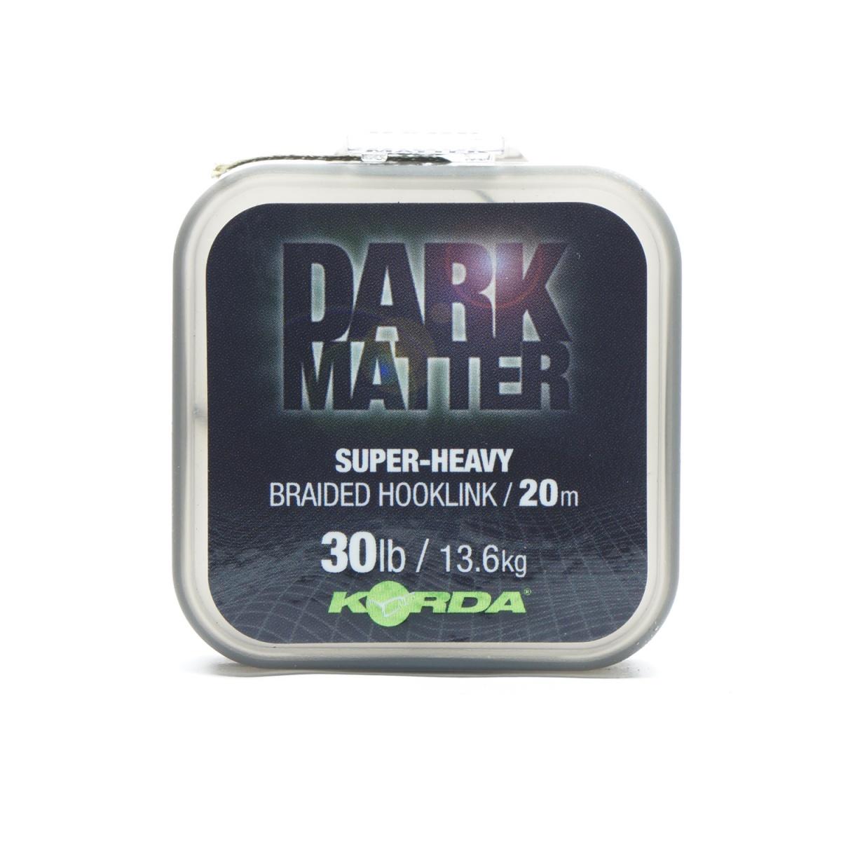 Korda Dark Matter Braid Hooklink wytrzymałość 30 lb