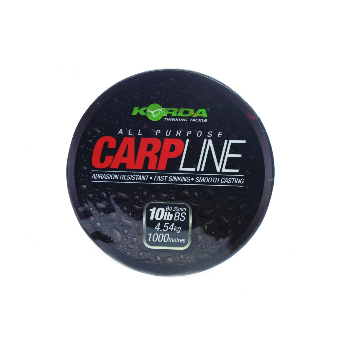 Korda CarpLine wytrzymałość 0,30/10 lb