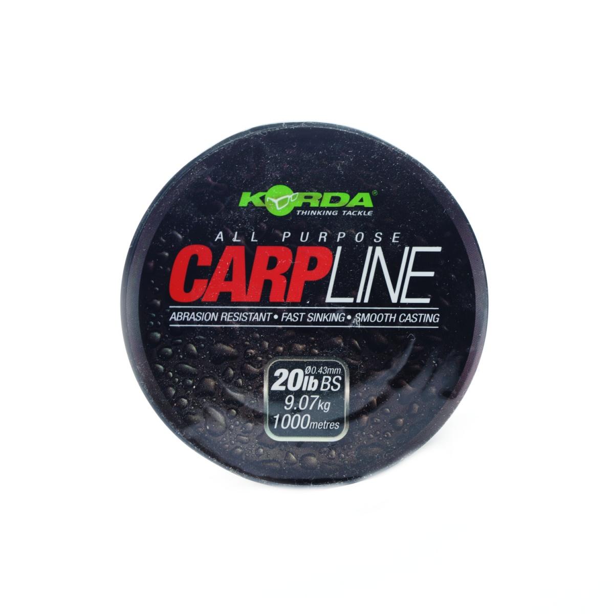 Korda CarpLine wytrzymałość 0,43/20 lb