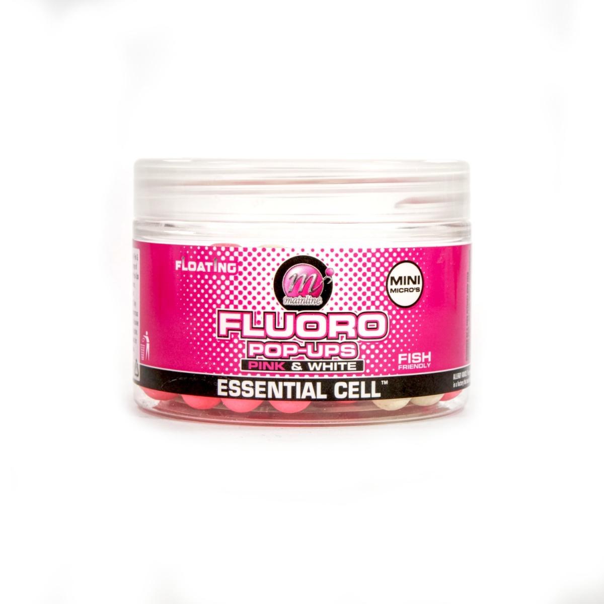 Mainline Pop-Ups Pink & White Essential Cell rozmiar 8mm