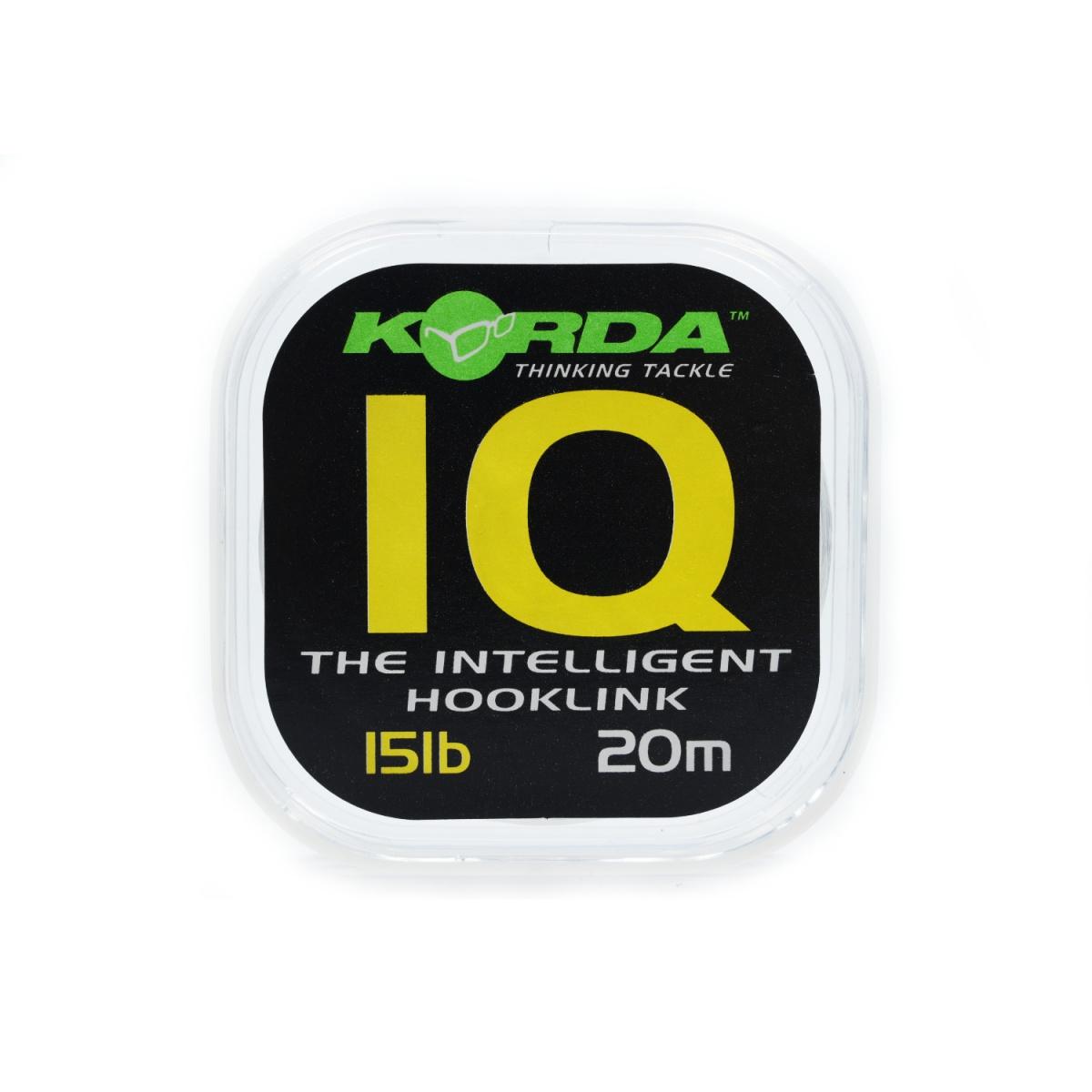 Korda IQ Fluorocarbon wytrzymałość 15lb/6.8 kg