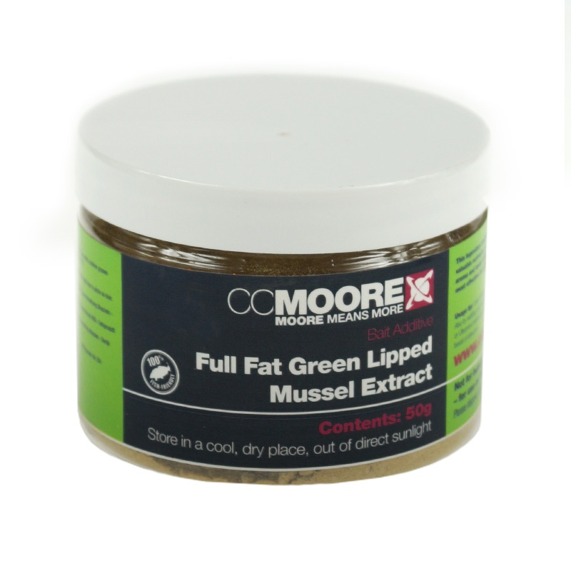 CcMoore Full Fat Green Lipped Mussel Extract opakowanie 50g