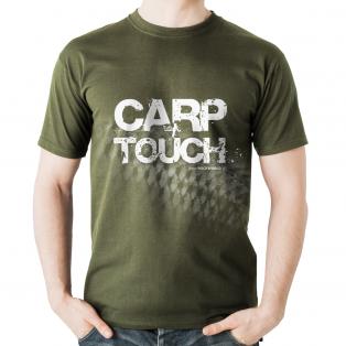Koszulka Rockworld CARP TOUCH Oliwka Męska