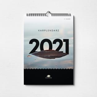 ROCKWORLD Karplendarz 2021 - Kalendarz Karpiarza