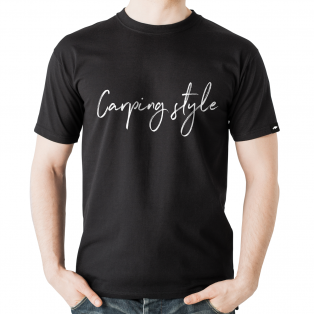 Koszulka Rockworld Carping Style Czarna Męska