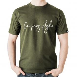 Koszulka Rockworld Carping Style Oliwkowa Męska