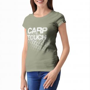 Koszulka Rockworld CARP TOUCH  Army Damska