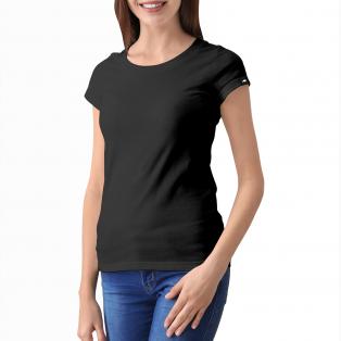 Rockworld T-Shirt Czarny Damski