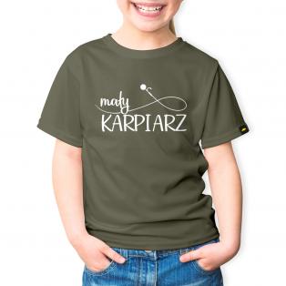 Rockworld Koszulka Dziecięca Mały Karpiarz Khaki