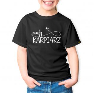 Rockworld Koszulka Dziecięca Mały Karpiarz Czarna