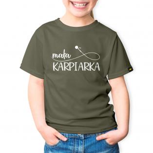 Rockworld Koszulka Dziecięca Mała Karpiarka Khaki