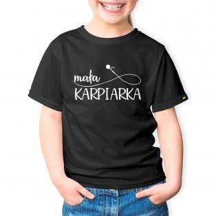 Rockworld Koszulka Dziecięca Mała Karpiarka Czarny