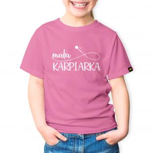 Rockworld Koszulka Dziecięca Mała Karpiarka Różowy