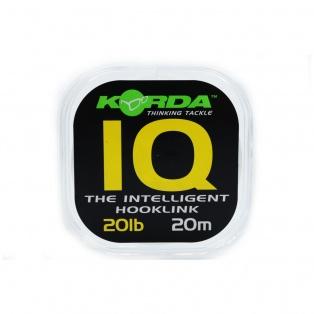 Korda IQ Fluorocarbon wytrzymałość 20lb/9.1 kg