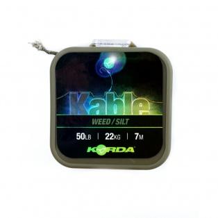 Korda Kable Leadcore kolor/opakowanie Weed/Silt / 7m