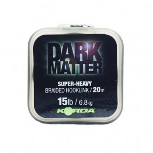Korda Dark Matter Braid Hooklink wytrzymałość 15 lb