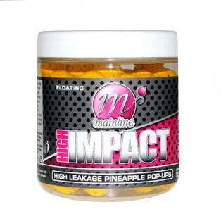 Mainline High Impact High Leakage Pineapple Pop Ups Boilies