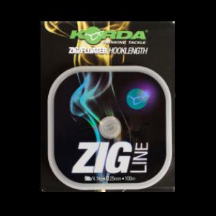 Korda Zig Line średnica/wytrzymałość 7lb / 0.22mm