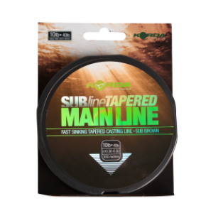 Korda SubLine Tapered Main Line średnica 0,28-0,50