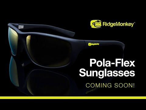 Puść film RidgeMonkey Pola-Flex Sunglasses: see things from a different perspective
