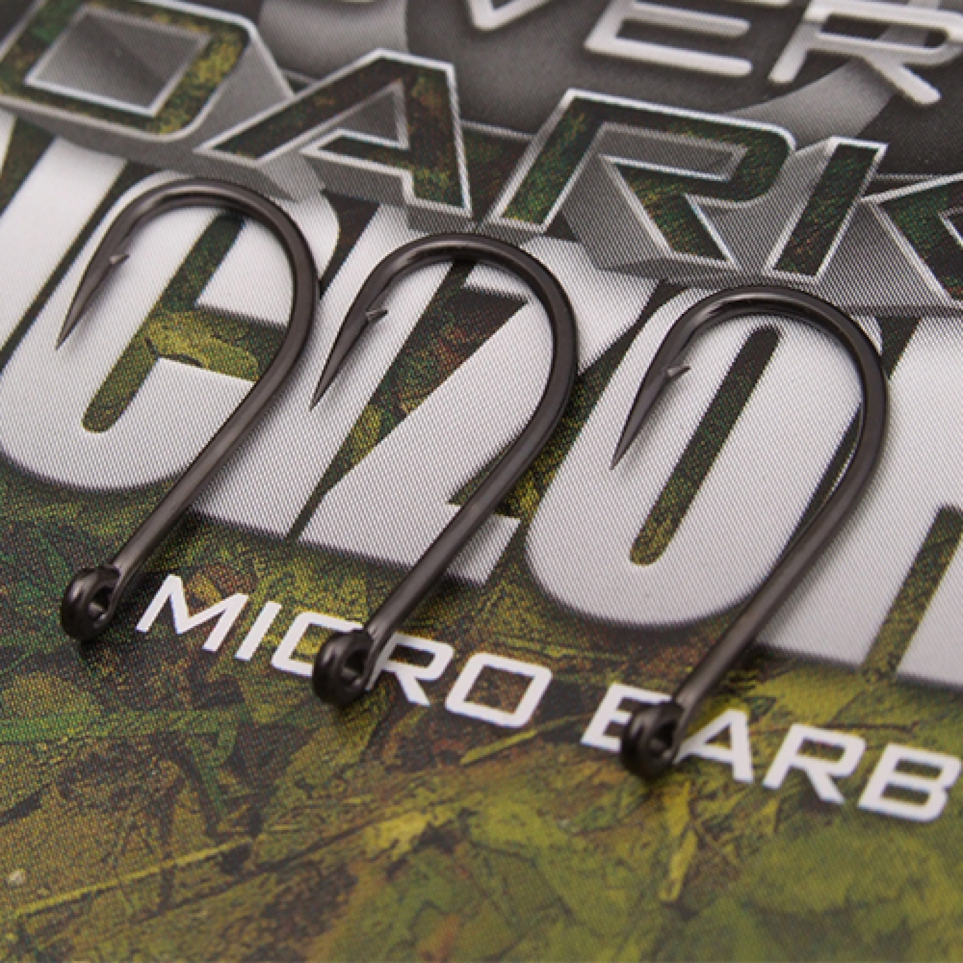 Just Carp specialist Eyed Barbless Hooks size 6 pack of 10